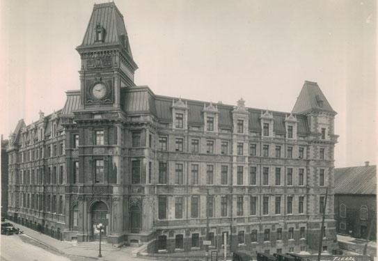 Palais de justice de Québec (ancien)