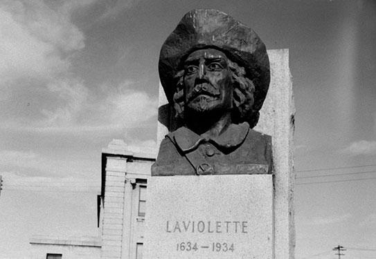 Sieur Laviolette, fondateur de Trois-Rivières