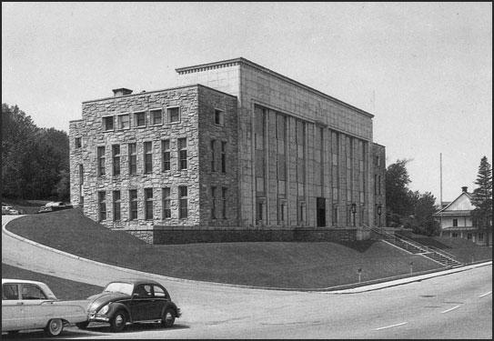 Palais de justice de Chicoutimi - Autrefois